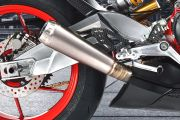 Exhaust View of RS 660