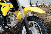Front Mudguard & Suspension of DR-Z50