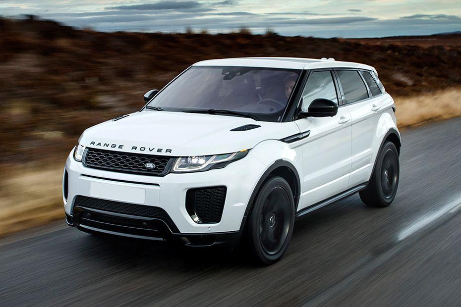 Front 1/4 left Image of Range Rover Evoque
