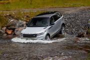 Top view Image of Range Rover Velar