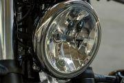 Head Light of Bonneville Bobber
