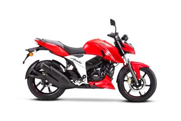 Photo of BS6 TVS Apache RTR 160 4V Drum