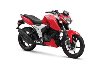 Photo of TVS Apache RTR 160 4V Single Disc ABS
