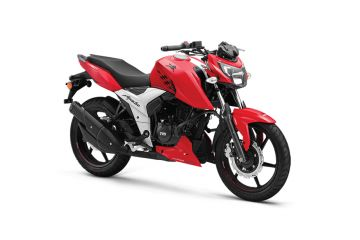 Photo of TVS Apache RTR 160 Single Disc ABS