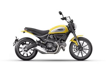 Photo of Ducati Scrambler Icon Yellow
