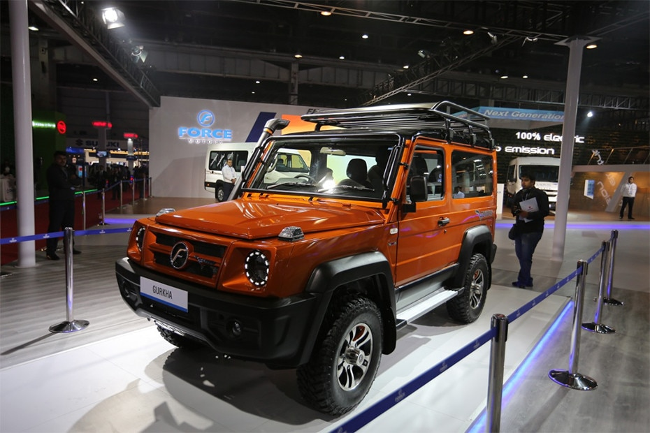 Photo of Force Motors Gurkha