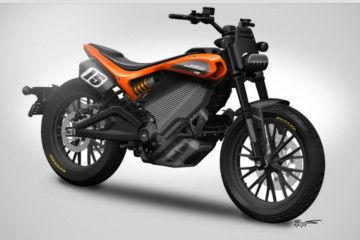 Harley Davidson EDT600R Electric Bike