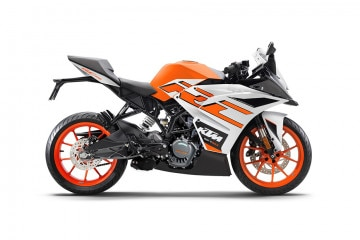 Photo of KTM RC 125 BS4