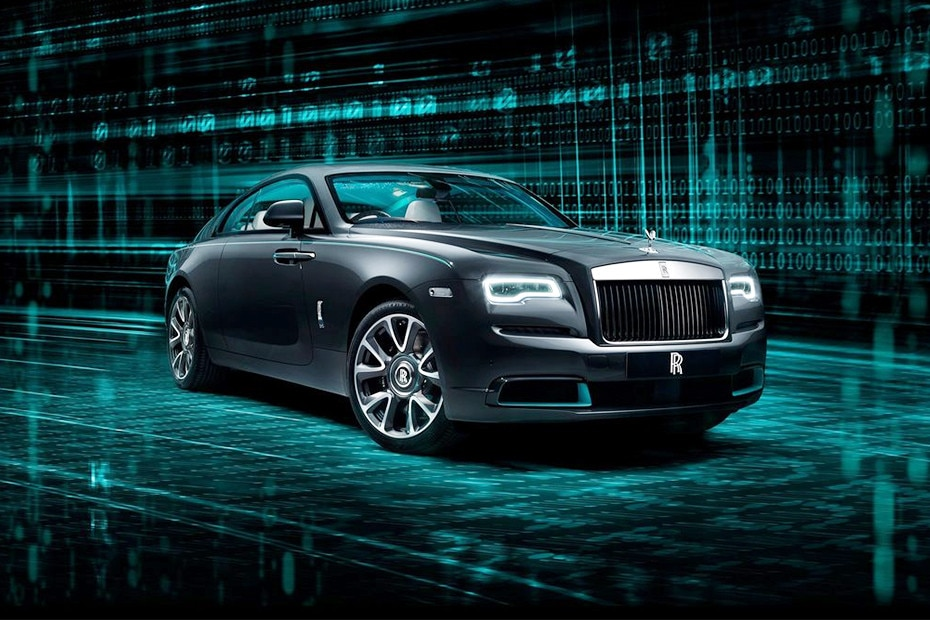 Front 1/4 left Image of Rolls Royce Wraith