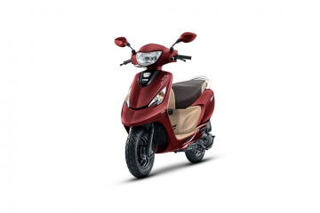 Photo of TVS Scooty Zest Matte Series BS6