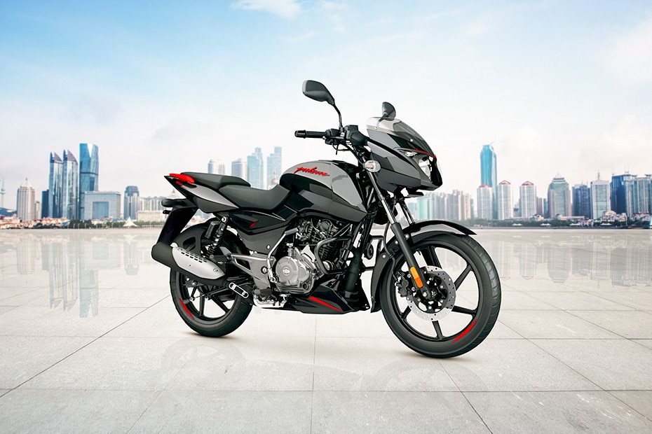 Front Right View of Pulsar 125 Neon