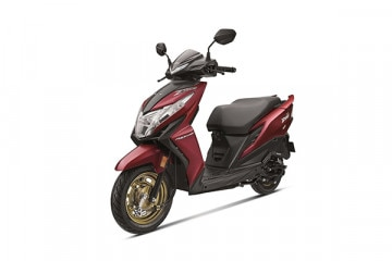 Photo of Honda Dio Drum BS6