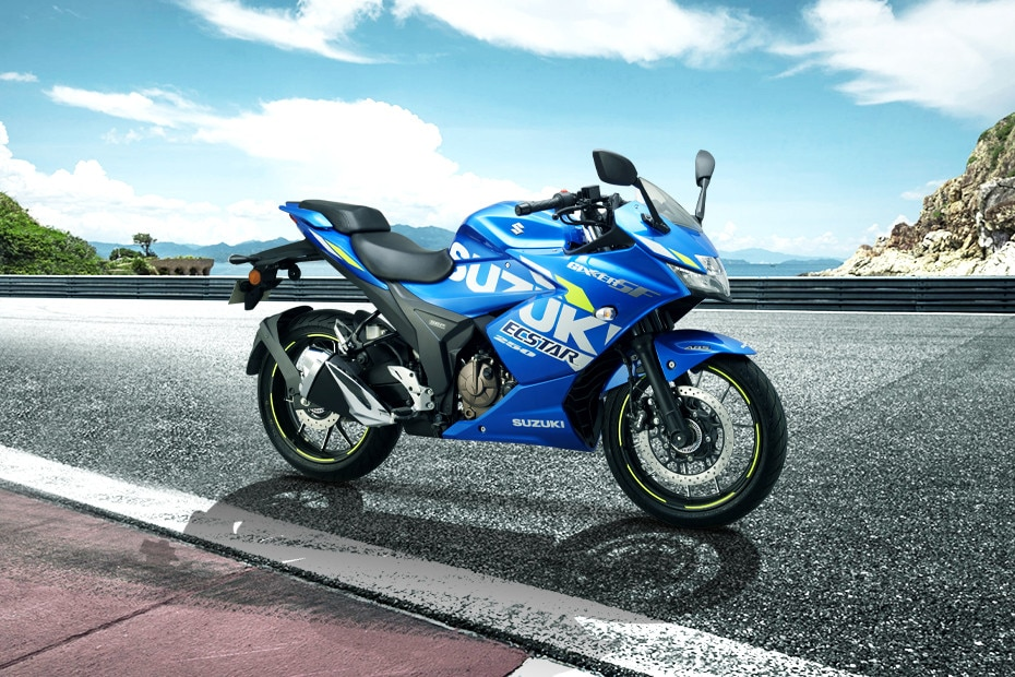 Right Side View of Gixxer SF 250