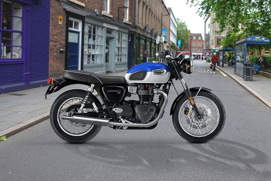 Right Side View of Bonneville T100