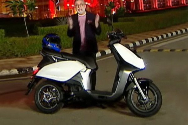 Photo of Hero Electric Scooter