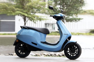 Right Side View of Scooter