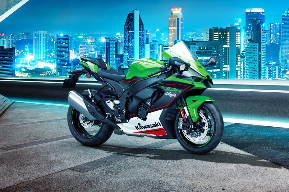 Right Side View of Ninja ZX-10R