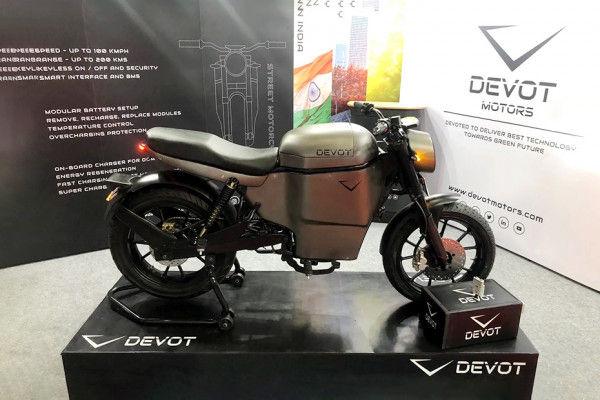 Photo of Devot Motors E-bike