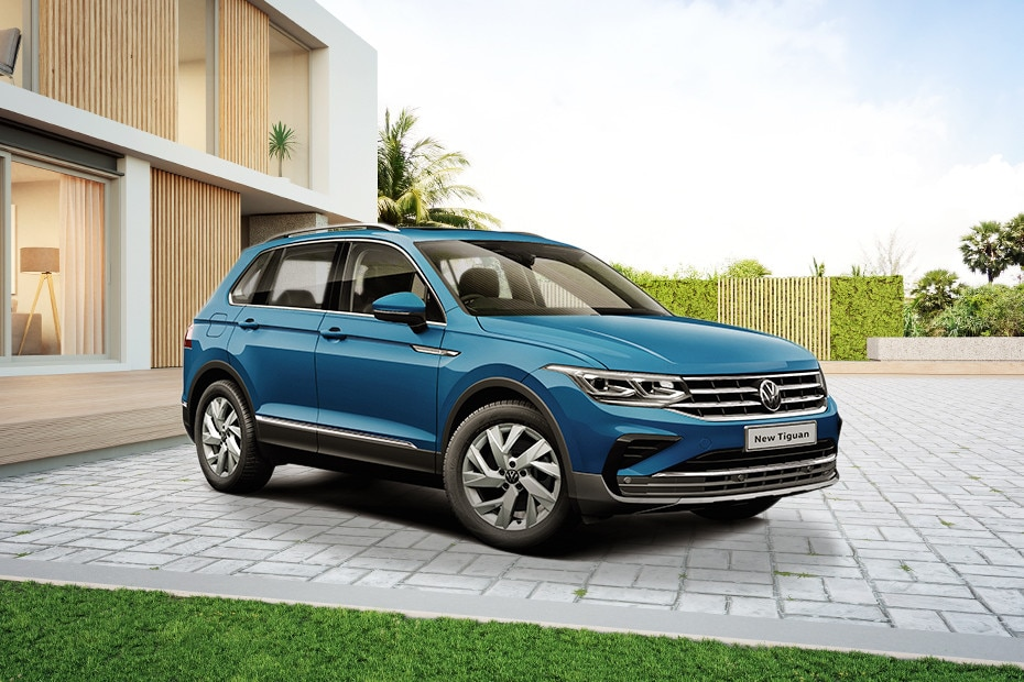 Front 1/4 left Image of Tiguan 2021