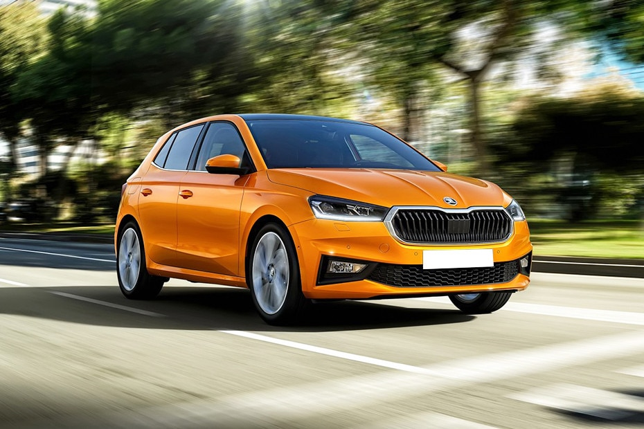 Front 1/4 left Image of Fabia 2022