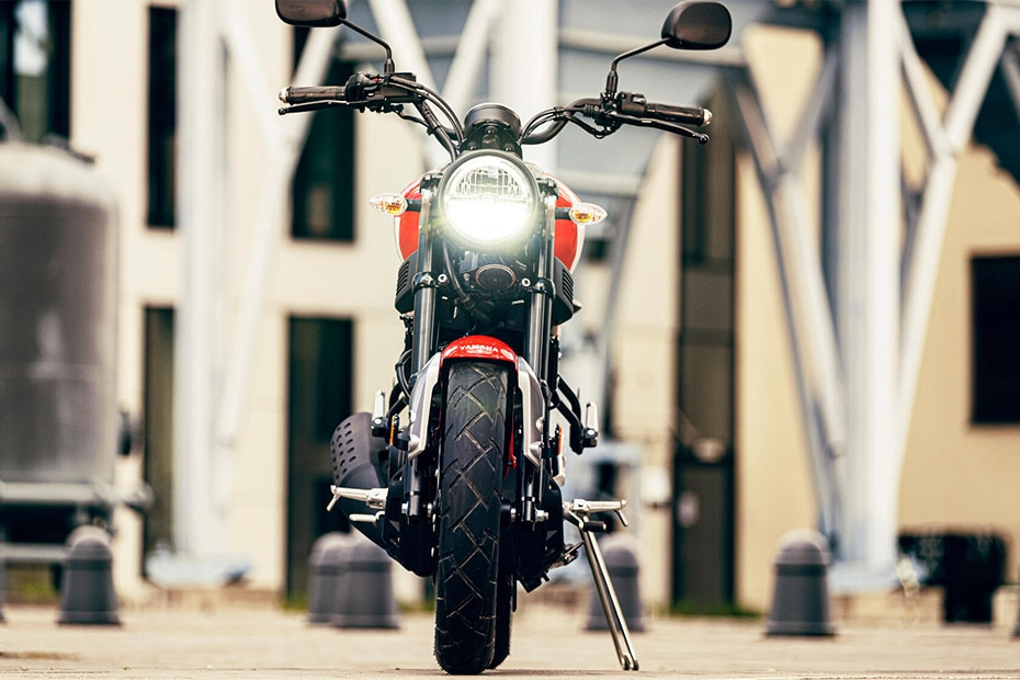 Front View of XSR125