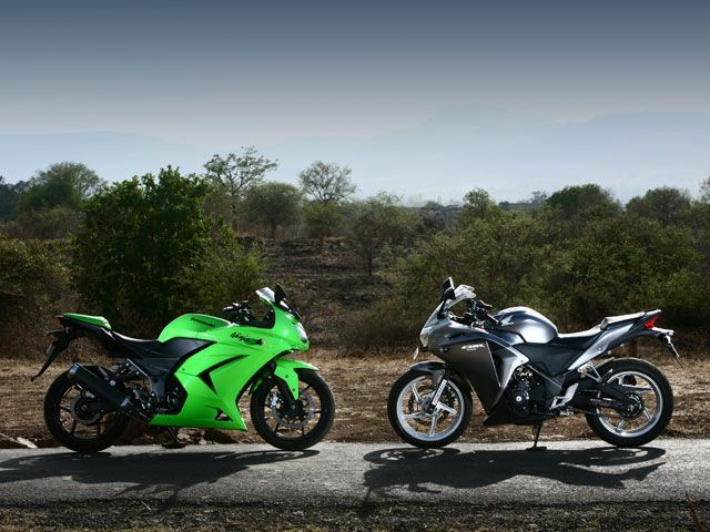 Honda Cbr250r Vs Kawasaki Ninja 250r In Comparison