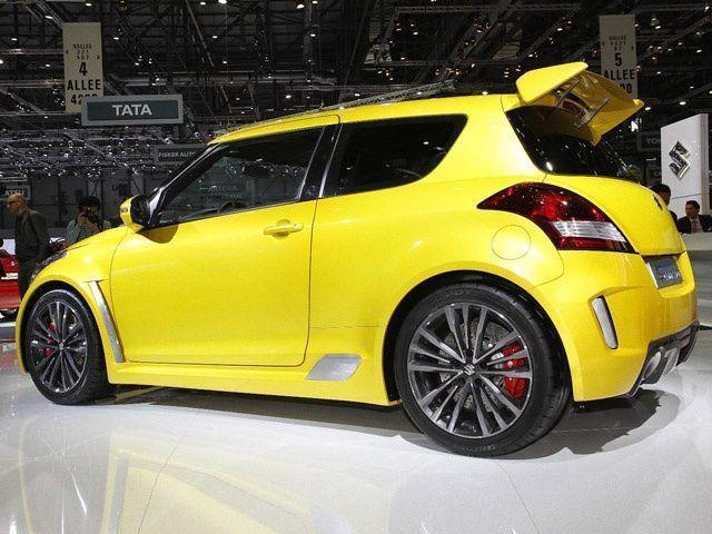 Suzuki Swift S-CONCEPT : Yellow Fever!! @ ZigWheels