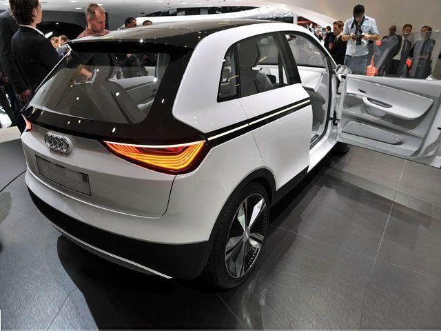Audi A2 Concept At The Frankfurt Motor Show Zigwheels