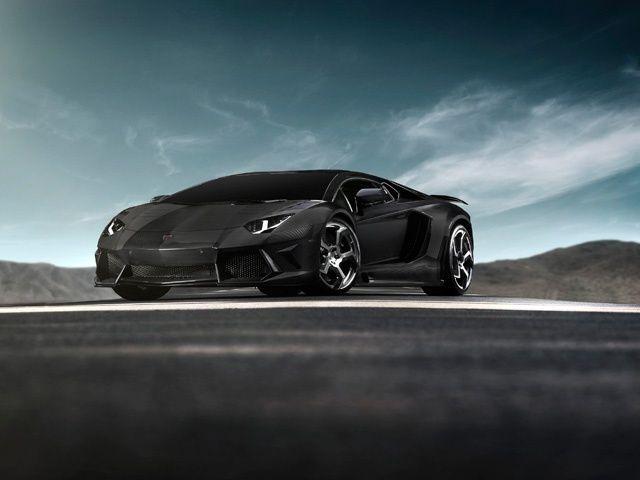 Lamborghini Aventador Lp700 4 Mansory Carbonado Black Diamond