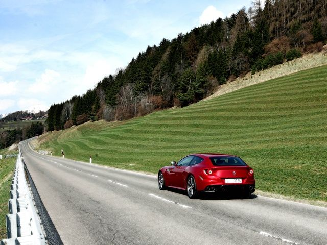 Ferrari FF International Media Test Drive