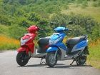 Honda Dio vs Yamaha Ray