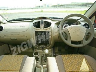 Mahindra Quanto : ZigWheels First Drive Photos (Interior)