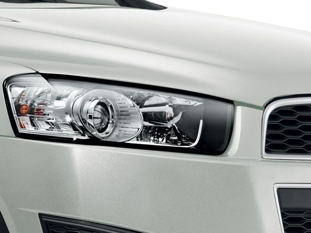 New Chevrolet Captiva LED headlamps