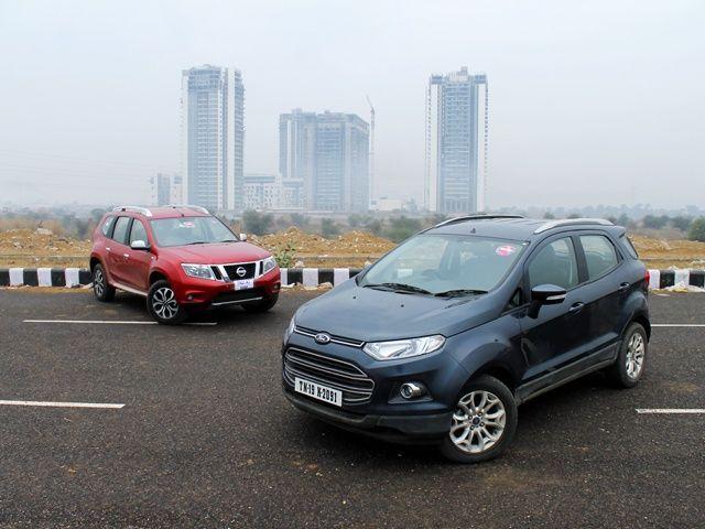 Ford EcoSport diesel vs Nissan Terrano diesel
