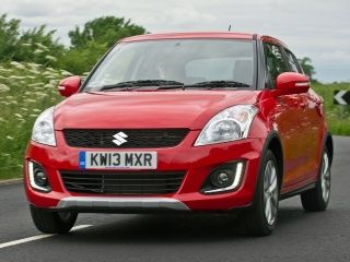 Suzuki Swift 4x4 SZ4 : In Pictures!