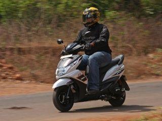 Yamaha Ray Z : First Ride Pics!