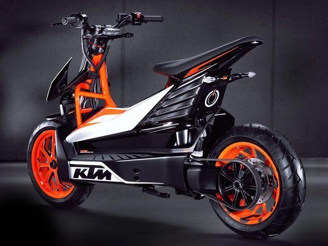 ktm scooter 125
