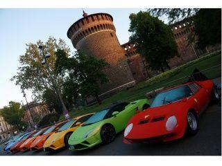 Lamborghini 50th Anniversary Grand Tour : In Pictures!