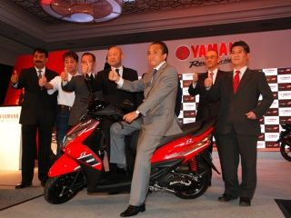 Yamaha Ray Z Launch : In Pictures!
