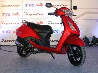 TVS Jupiter Launch : In Pictures!