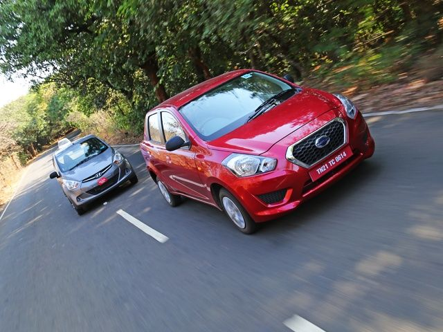 Datsun Go vs Hyundai Eon comparison review