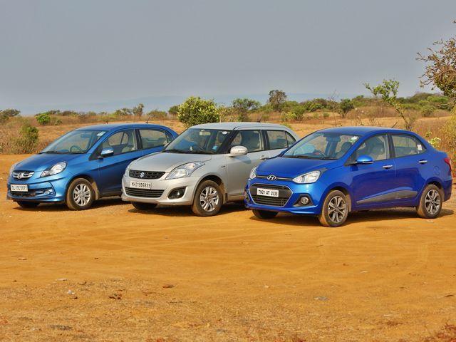 Honda Dealers Ma >> Honda Amaze vs Hyundai Xcent vs Maruti-Suzuki Swift Dzire Diesel Comparison Review: In Pictures ...