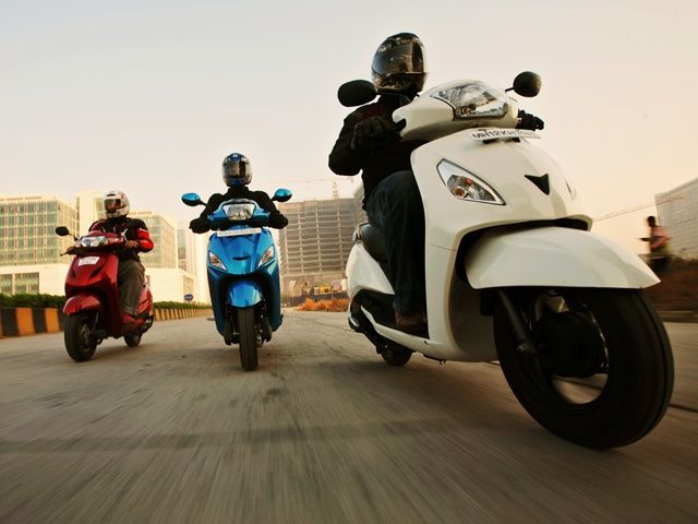 TVS Jupier vs Honda Activa vs Hero Meastro