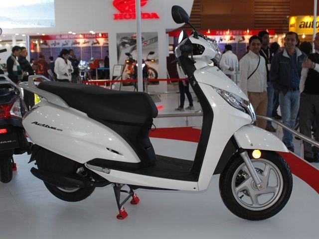 Honda Activa 125 In Pictures Zigwheels