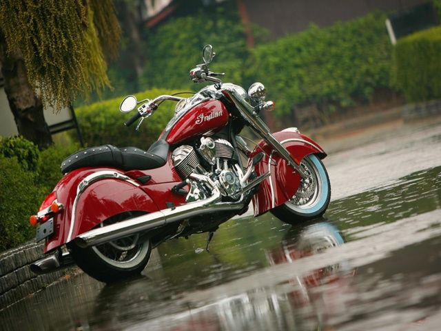 2014 Indian Chief: First Ride Pics