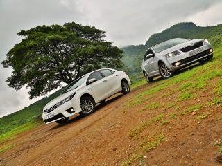 Toyota Corolla Altis vs Skoda Octavia: Comparison Review Gallery