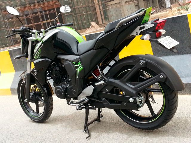 2014 Yamaha Fz S Version 2 0 Gallery Review Zigwheels