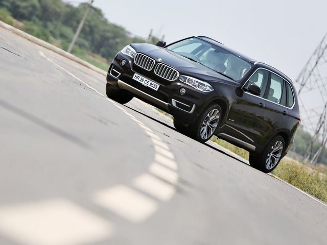 2014 BMW X5 front static
