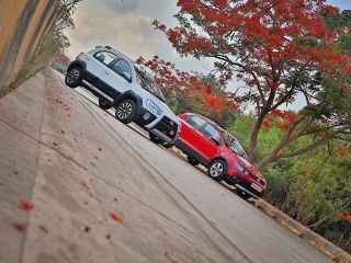 Toyota Etios Cross vs Volkswagen Cross Polo Comparison Review: Gallery