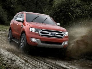 2015 Ford Endeavour: Photo Gallery